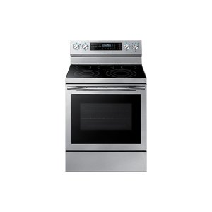 5.9 cu. ft. Freestanding Electric Range with True Convection & Steam Assist in Stainless Steel Product Image