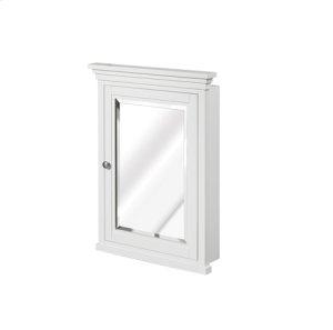 "Shaker Americana 22"" Semi-Recess Medicine Cabinet - Polar White Product Image"