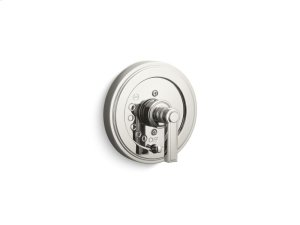 Pressure Balance Trim with Diverter, Lever Handle - Nickel Silver Product Image