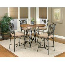 CR-W2597  5 Piece Counter Height Dining Set