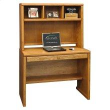 Contemporary 39inch Desk Hutch