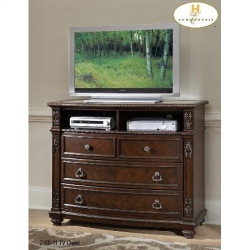TV Chest with Marble inset