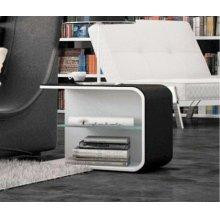 Modrest Spirit - Contemporary Eco-Leather Nightstand