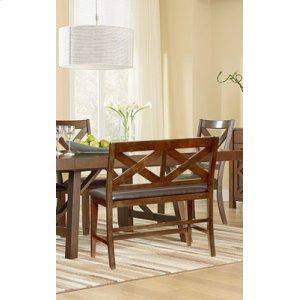 Uph Brown Leg Side Chair