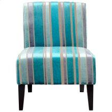 Ms. Stripy Blu Chair
