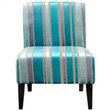 Ms. Stripy Blu Chair