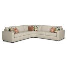 Collins Fabric Sectional Product Image