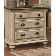 CF-2300 Bedroom  3 Drawer Nightstand
