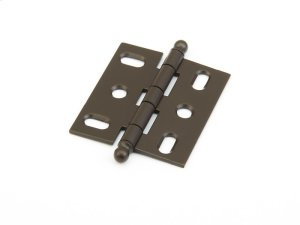 Solid Brass, Hinge, Ball Tip Mortise, Oil Rubbed Bronze finish Product Image