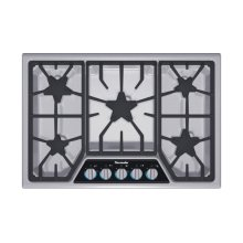 "Masterpiece 30"" Stainless steel gas cooktop 5 Burner SGSX305FS"