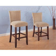 """CHAIR,TAUPE/CHERRY 24""""Lx19""""Wx44-1/2""""H"""