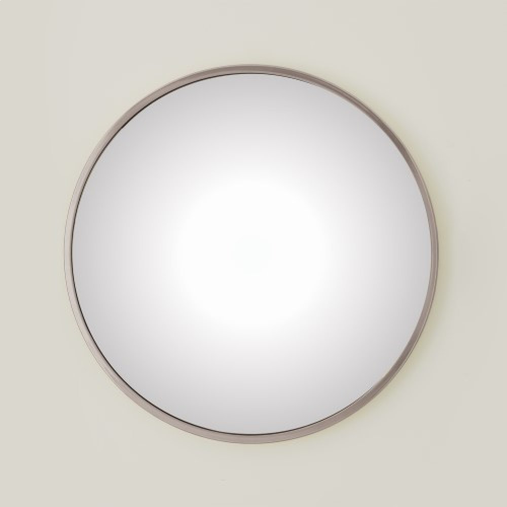 Hoop Convex Mirror-Nickel-Med