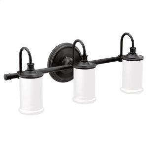 Belfield matte black bath light Product Image