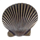 Clamshell Knob 2 Inch - Burnished Bronze Product Image