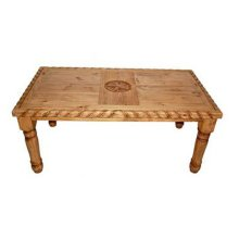 7' Rope Table W/star On Top