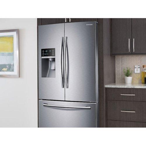 23 cu. ft. French Door Refrigerator in Stainless Steel
