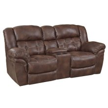 129-22-21  Reclining Console Loveseat
