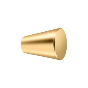 """Knob Cone Cabinet 1"""" - PVD Polished Brass Product Image"""