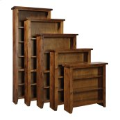 "Bookcase 36""H 2 adj shelves"
