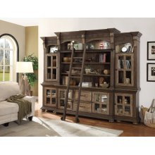 LAREDO 5 piece Wall with Shelves and Ladder