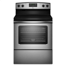 Amana® 30-inch Amana® Electric Range with Easy Touch Electronic Controls - Stainless Steel