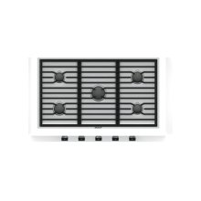 """36"""" Contemporary Gas Cooktop - 5 Burners"""