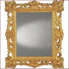 Mirror W1195 Old World Gold