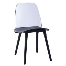 Pasha Black Acrylic Chair (Set of 2)