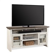"""65"""" Console w/ 2 Doors (Available in Drifted White or Drifted Black Finish)"""