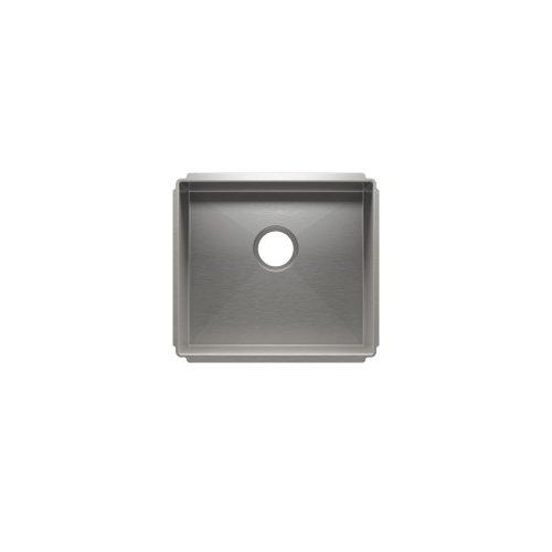 """J7® 003981 - undermount stainless steel Kitchen sink , 18"""" × 16"""" × 10"""""""