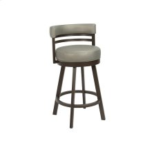 Miramar B521H26S Swivel Back No Arms Bar Stool