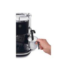 Icona Manual Espresso Machine - Black ECO310BK