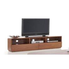 Modrest Jett Modern Walnut TV Stand