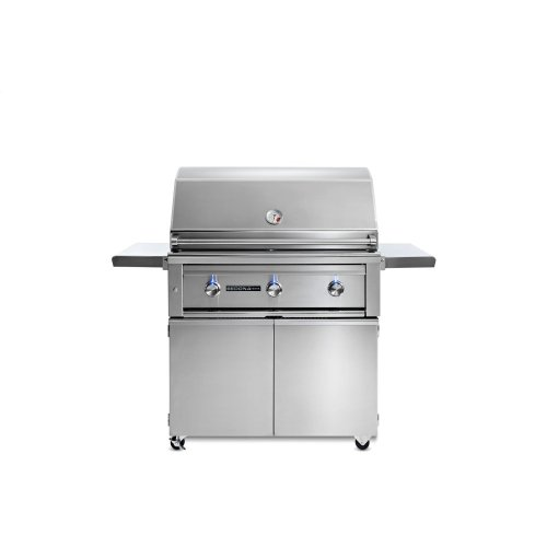 "36"" Sedona by Lynx Freestanding Grill with 3 Stainless Steel Burners, NG"