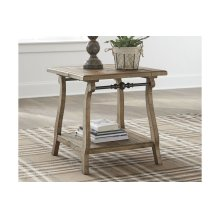 T824-3  Rectangular End Table