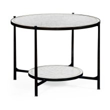 glomise & Bronze Iron Centre Table