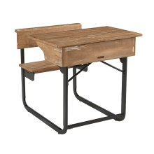 Salvage Schoolhouse Desk