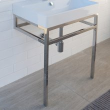 Optional solid surface shelf for metal console stand AQS-BX-32
