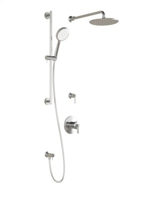 Complete Shower Systems With Aquatonik Type T/p Valve - Chrome Product Image
