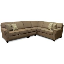 Beyonce Sectional with Nails