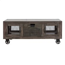 Industrial Grey Cocktail Table