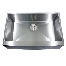 33 Inch Pro Series Single Bowl Farmhouse Apron Front Stainless Steel Kitchen Sink