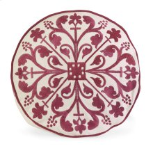 IK Nubia Embroidered Pillow with Down Fill