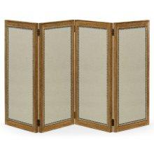 Brushed Medium Brown Oak Screen