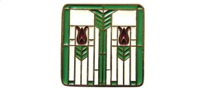 Prairie Tulips - Antique Brass/Spring Green Product Image