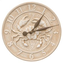 Crab Sealife Clock