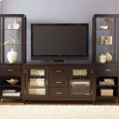 Entertainment Center with Piers Product Image