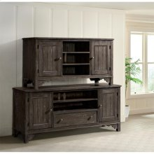 Grand Haven - 56-inch TV Console - Rich Charcoal Finish