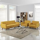 Engage Armchairs and Sofa Set of 3 in Citrus Product Image