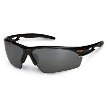 A sleek, stylish pair of protective eyewear that meets ANSI standard Z87.1+